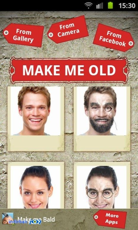 Make me Old  Apps Face Aging for android
